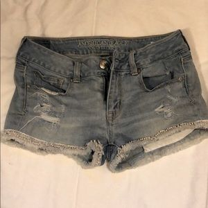 American Eagle Outfitters blue Jean shorts Size 2